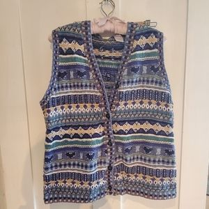 Cottagecore Vintage Knit Vest